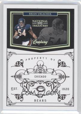 2010 Playoff National Treasures Century Silver #24 - Brian Urlacher /25