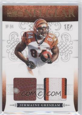 2010 Playoff National Treasures NFL Gear Combos Prime #23 - Jermaine Gresham /49