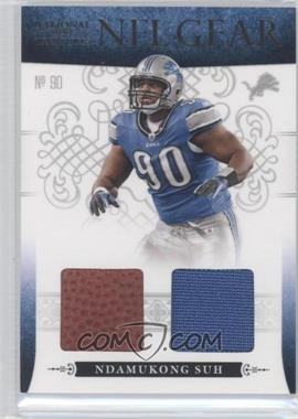2010 Playoff National Treasures NFL Gear Combos #30 - Ndamukong Suh /25