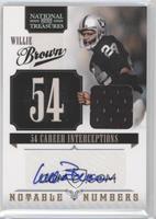 Willie Brown /25