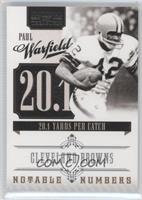 Paul Warfield /99
