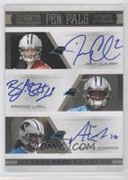Armanti Edwards, Brandon LaFell, Jimmy Clausen