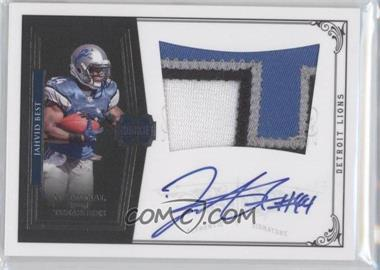 2010 Playoff National Treasures #317 - Jahvid Best /99