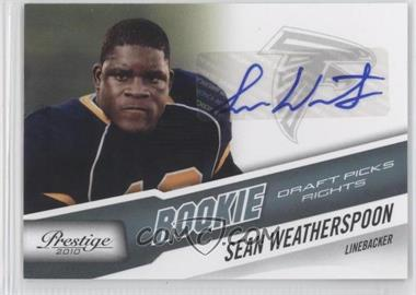 2010 Playoff Prestige - [Base] - Rookie Draft Picks Rights Autographs #290 - Sean Weatherspoon /399