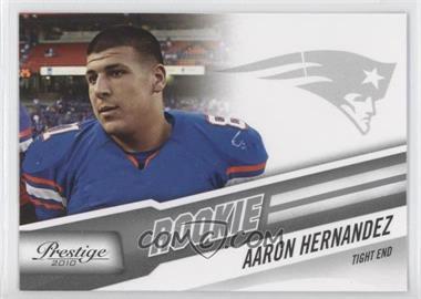 2010 Playoff Prestige - [Base] #201 - Aaron Hernandez