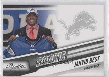 2010 Playoff Prestige - [Base] #247.2 - Jahvid Best (Draft Day)