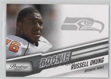 2010 Playoff Prestige - [Base] #285 - Russell Okung