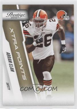 2010 Playoff Prestige Xtra Points Gold #46 - Abram Elam /250