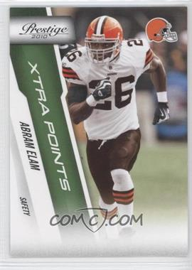 2010 Playoff Prestige Xtra Points Green #46 - Abram Elam /25