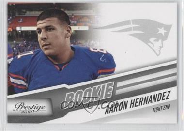 2010 Playoff Prestige #201 - Aaron Hernandez