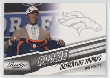 2010 Playoff Prestige #230 - Demaryius Thomas (Draft Photo)
