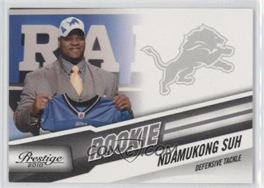2010 Playoff Prestige #277.2 - Ndamukong Suh (Draft Day)