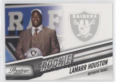 2010 Playoff Prestige #302 - Lamarr Houston