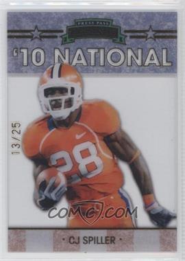 2010 Press Pass Legends National Convention Gold #NE-3 - C.J. Spiller /25