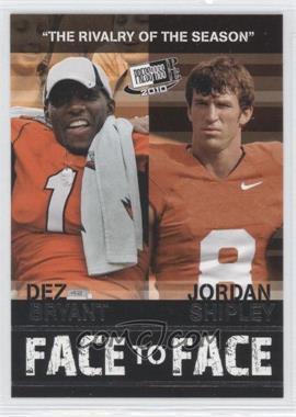 2010 Press Pass Portrait Edition [???] #FF-15 - Jordan Shipley, Dez Bryant