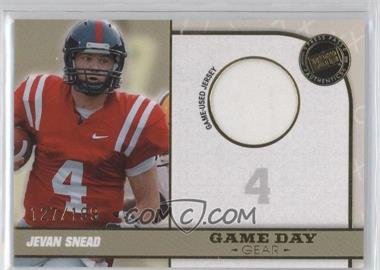 2010 Press Pass Portrait Edition [???] #GDG-JS - Jevan Snead /199