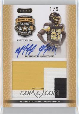 2010 Razor U.S. Army All-American Bowl [???] #PT-1 - Matt Elam /5