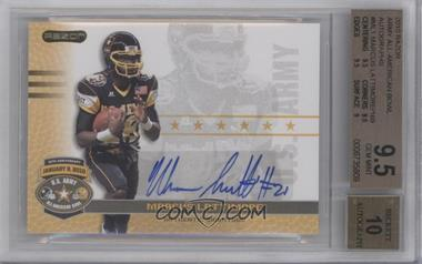 2010 Razor U.S. Army All-American Bowl Autographs #BA-ML1 - Marcus Lattimore [BGS 9.5]