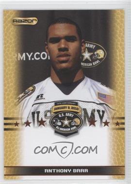 2010 Razor U.S. Army All-American Bowl Promos #ANBA - Antwan Barnes