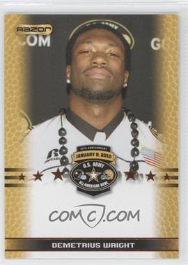 2010 Razor U.S. Army All-American Bowl Promos #DEWR - DeAndre Wright