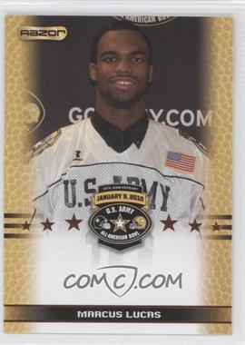 2010 Razor U.S. Army All-American Bowl Promos #MALU - Marcus Lucas