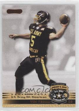 2010 Razor U.S. Army All-American Bowl Promos #TB1 - Tim Tebow