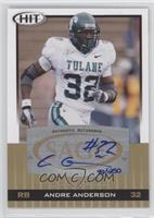Andre' Anderson /250