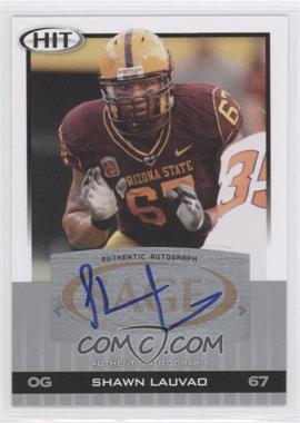 2010 SAGE Hit - Autographs - Silver #A36 - Shawn Lauvao
