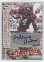Anthony Dixon /100