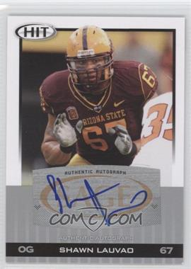 2010 SAGE Hit Autographs Silver #A36 - Shawn Lauvao