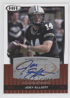 2010 SAGE Hit Autographs #A26 - Joey Elliott
