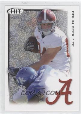 2010 SAGE Hit Silver #34 - Colin Peek