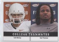 Earl Thomas, Colt McCoy