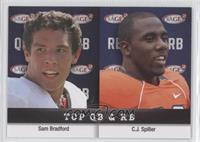 Sam Bradford, C.J. Spiller