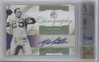 Y.A. Tittle [BGS 9]
