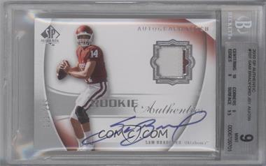 2010 SP Authentic #107 - Sam Bradford /299 [BGS 9]