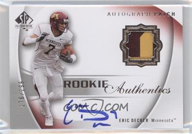 2010 SP Authentic #114 - Eric Decker /199
