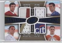 Sam Bradford, Tim Tebow, Jimmy Clausen, Colt McCoy /10