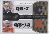 Jimmy Clausen, Colt McCoy /99