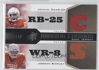 Jamaal Charles, Jordan Shipley /99