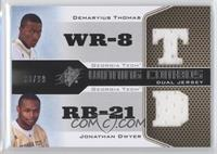 Jonathan Dwyer, Demaryius Thomas /99