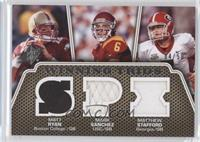 Matt Ryan, Matthew Stafford, Mark Sanchez /50