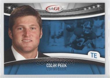 2010 Sage #36 - Colin Peek