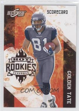 2010 Score Hot Rookies Scorecard #22 - Golden Tate /499