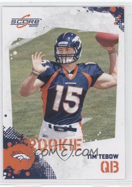 2010 Score #396 - Tim Tebow