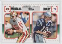 Joe Montana, Tom Brady