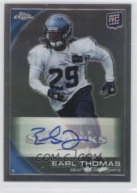 2010 Topps Chrome - [Base] - Rookie Autographs [Autographed] #C135 - Earl Thomas