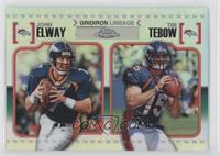 John Elway, Tim Tebow /99