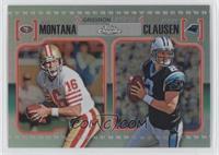 Joe Montana, Jimmy Clausen /99