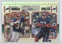 Thurman Thomas, C.J. Spiller /99